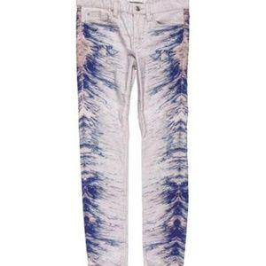 IRO Neidra Splash Print Skinny Jeans